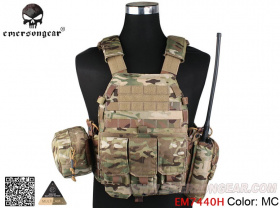 Emerson LBT6094A Style Tactical Vest with Pouches Multicam