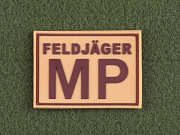 JTG Feldjager MP Patch Desert