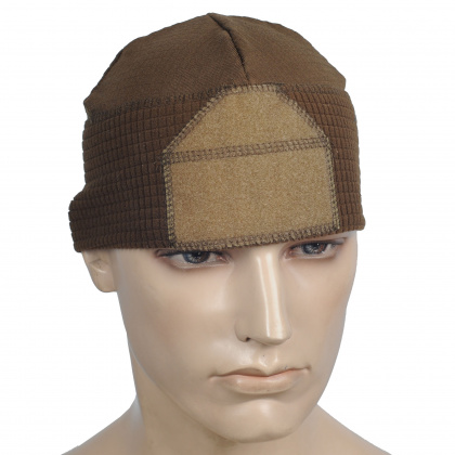 Emerson Fleece Watch Cap (with velcro) Coyote
