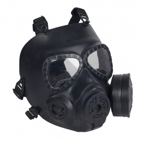 China made M4 Gas Mask with Vent. BK