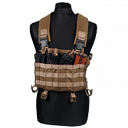SO разгр. система Chest Rig AK coyote