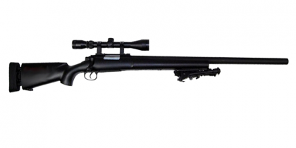 SW M24 Bolt Action Rifle (with scope & bipod)
