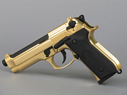 WE M92S Gold/Black GBB