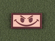 JTG Evil Smiley Patch Desert
