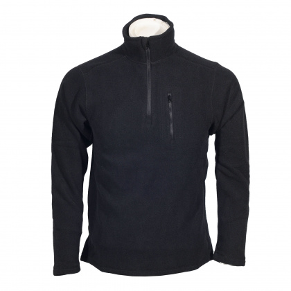 Condor 1/4 Zip Fleece Pullover BK