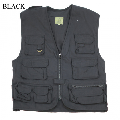 Highlander Multi-Purpose Waist Coat Black все разм.