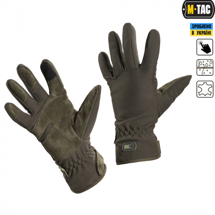 M-Tac перчатки Tactical Waterproof Olive