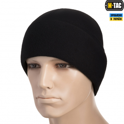 M-Tac шапка Watch Cap флис (330г/м2) with Slimtex Black