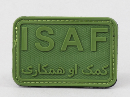 James Weekend Warrior ISAF PVC Velcro Patch OD