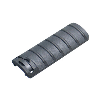 King Arms Rail Cover 6 Ribs Black
