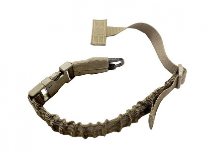 WAS Quick Release Chest Sling H&K Hook Coyote Tan