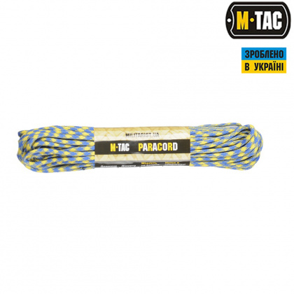 M-Tac паракорд 550 type III Yellow/Blue 30м