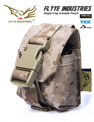 Flyye Single Frag Grenade Pouch AOR1
