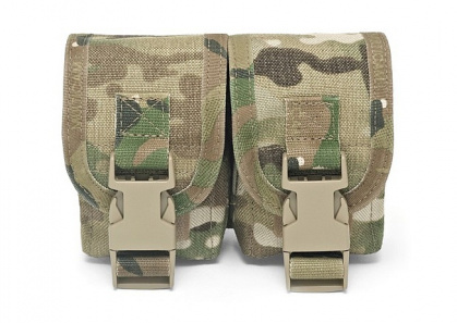 WAS Double Frag Grenade Pouch Multicam