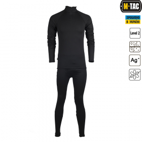 M-Tac термобелье Cold Gear Polartec Black