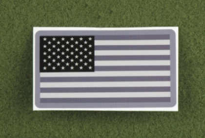 MSM US Flag Decal SWAT