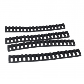 CAA Rubber Rail Cover Protections Black
