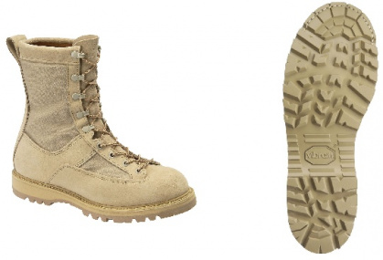 "Mens 8"" wp. desert tan non-insulated army tmp.wth. boot. 4010 all sizes"