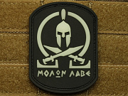 JTG Molon Labe Spartan Patch Ghost GID