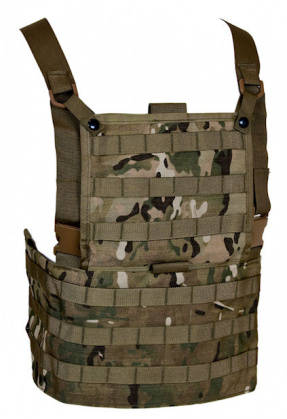 Tru-Spec Chest Harness MOLLE Multicam