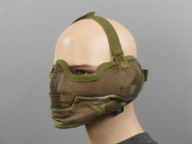 TMC V2 Strike Metal Mesh Mask Multicam