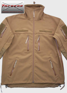TacGear Soft Shell Jacket COYOTE все разм.