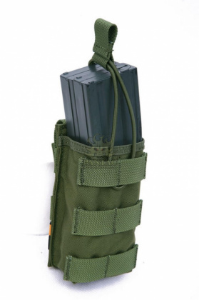 Pantac Universal Mag Pouch Open Olive