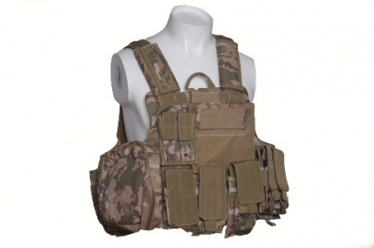 RT CIRAS vest with pouches -MC
