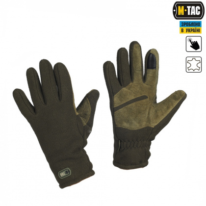 M-Tac перчатки Winter Tactical Windblock 295 Olive (сорт 2)