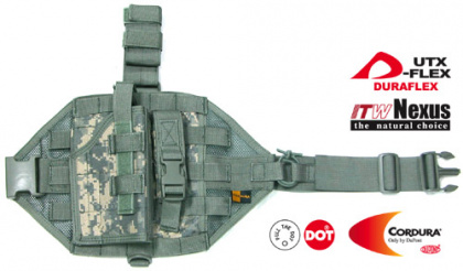 Guarder MOD Tactical Thigh Кобура - ACU