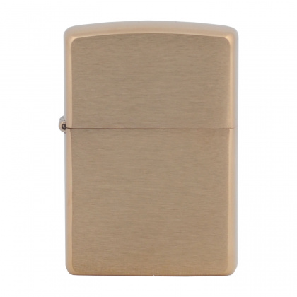 ZIPPO зажигалка Brushed Brass