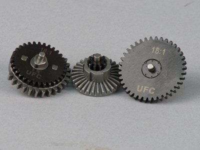 UFC 18:1 Original Steel CNC Gear Set