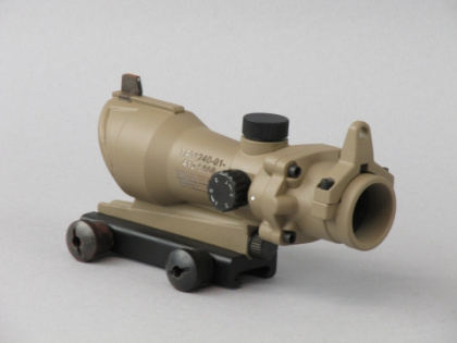 China made ACOG-style Red/Green Dot Scope TAN