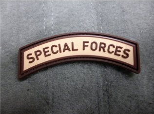JTG Special Forces Tab Patch Desert