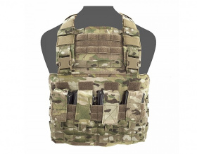 WAS Gladiator Chest Rig Plate Carrier Multicam