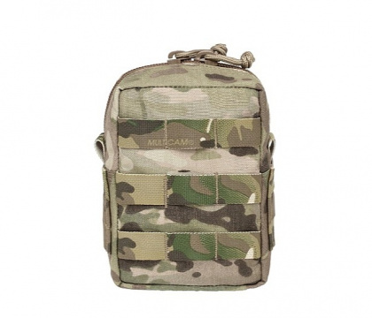 WAS Small MOLLE Utility Pouch Multicam