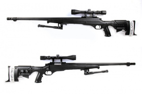China made MB12D Spring Rifle BK (with scope & bipod)