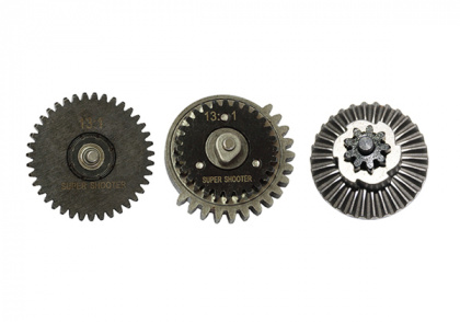 Super Shooter 13:1 CNC Gear Set