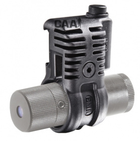 "CAA Low Profile Flashlight/Laser Mount 1"" Black"