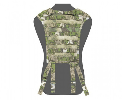 WAS Load Bearing MOLLE Harness A-TACS FG
