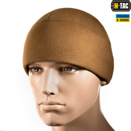 M-Tac шапка Watch Cap Elite флис (260г/м2) with Slimtex Coyote Brown