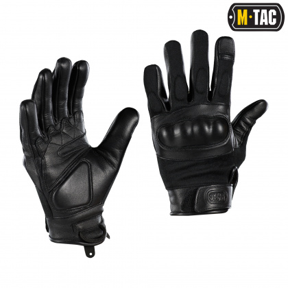 M-Tac перчатки Nomex Assault Tactical Mk.7 Black