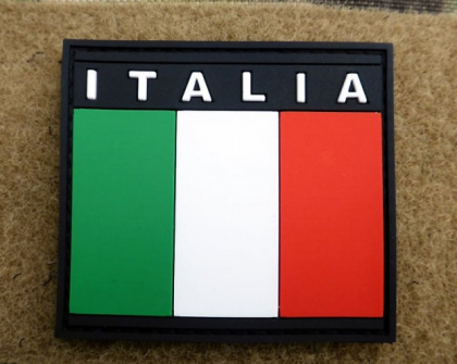JTG Italian Flag Patch Fullcolor