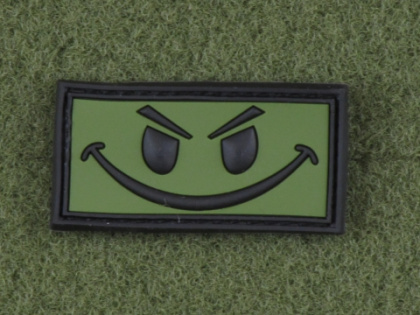 JTG Evil Smiley Patch Forest