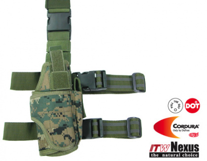 Guarder Tornado Tactical Thigh Holster Digital Woodland