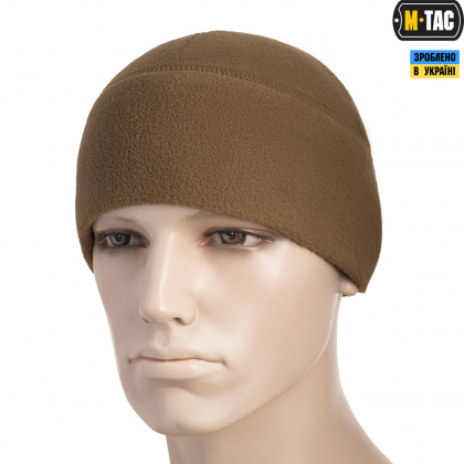 M-Tac шапка Watch Cap флис (260г/м2) Coyote