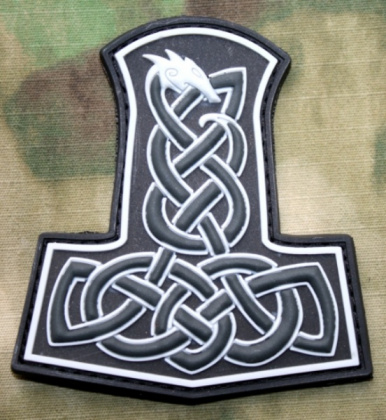 JTG Thor's Hammer Dragon Patch SWAT