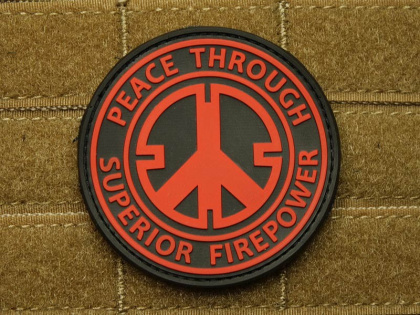 JTG Peace Patch Red