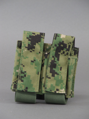 Emerson LBT-style 40mm Double Pouch AOR2