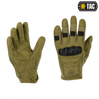 M-Tac перчатки Assault Tactical Mk.6 Olive